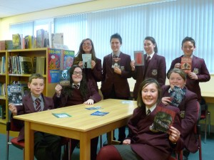 Pupils who will read all twelve nominated books for the NI Drewett Book Award 2010