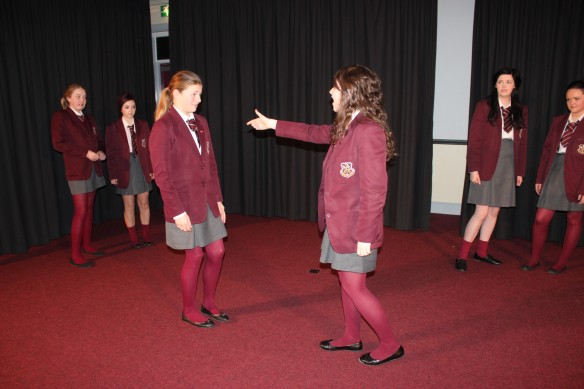 Drama coursework- comparison between: 'The Crucible' by Arthur Miller ...
