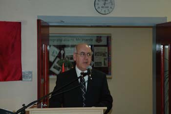 Pictured above is the School Principal, Mr Oliver Mooney