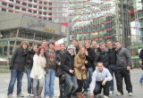 History Students in Sony Centre, Potsdamer Platz