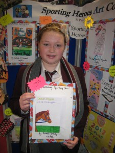 Aimee Brady, 3rd Prize in the Book Cover Competition