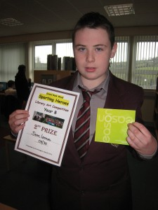 Dean Lennon was placed 2nd