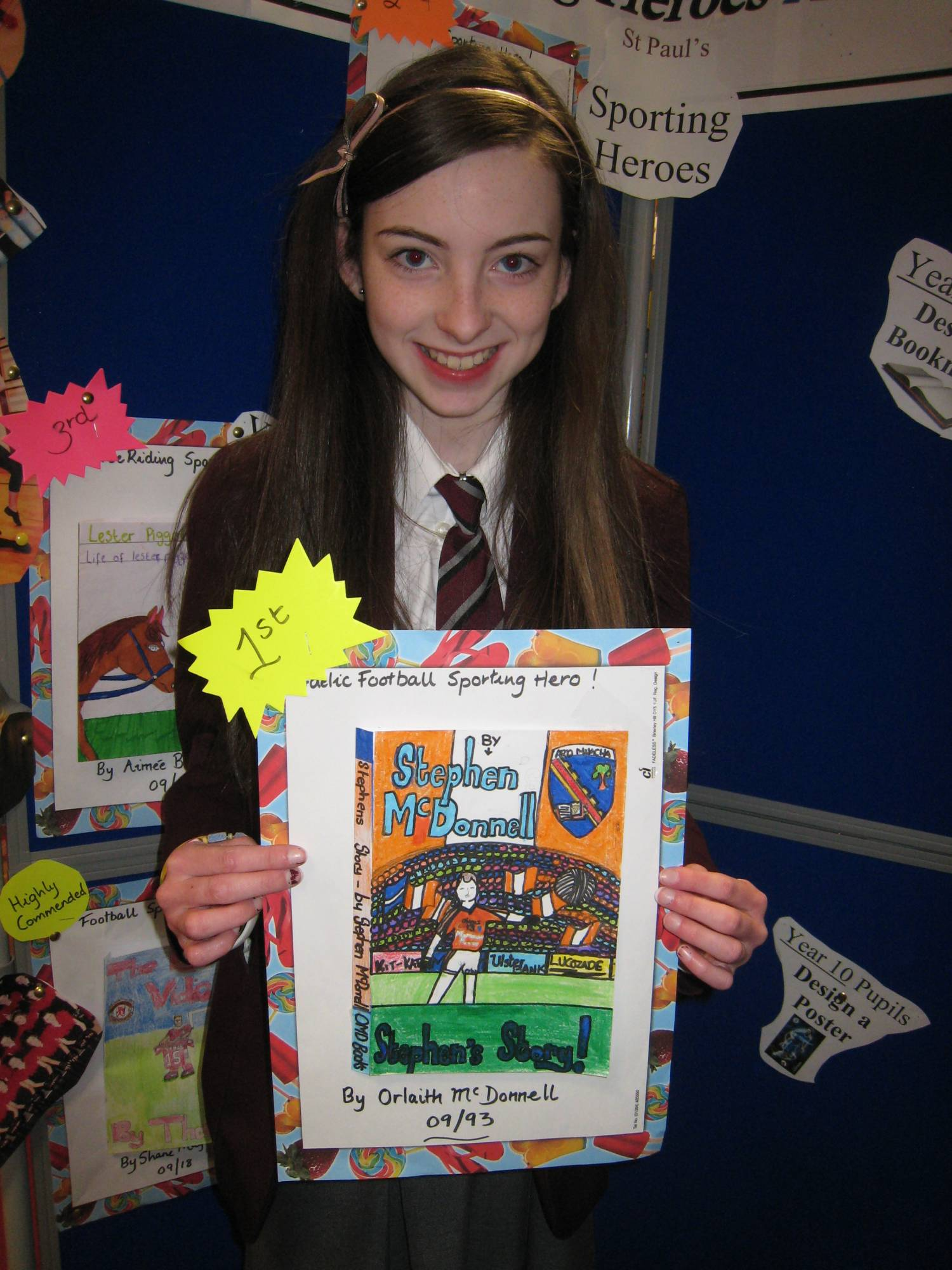 Book Cover Competition : Library news « st paul s high school bessbrook county armagh